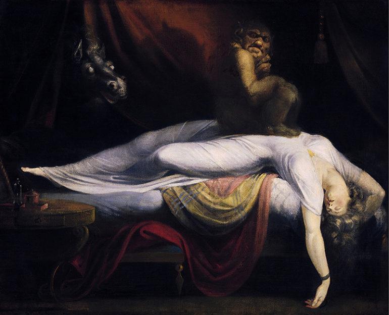 O pesadelo, por John Henry Fuseli